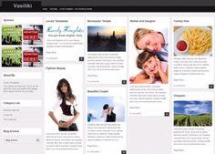 Vasiliki Blogger template