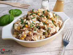 Orzo, Fried Rice, Fries, Food And Drink, Lunch, Ethnic Recipes, Diet, Eat Lunch, Nasi Goreng