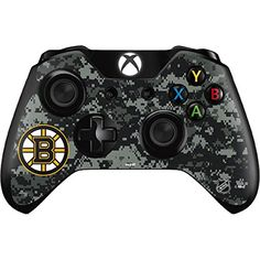 NHL Boston Bruins Xbox One Controller Skin  Boston Bruins Camo Vinyl Decal Skin For Your Xbox One Controller * Continue to the product at the image link.(It is Amazon affiliate link) #night