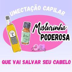 Umectação: Tratamento com óleos vegetais para cabelos danificados ou  muito ressecados. Com óleo de rícino e azeite de oliva. Dica de beleza! Umectação cabelos cacheados: óleo de rícino + azeite de oliva.