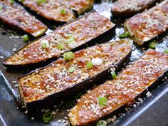 Foods For Long Life: Miso And Ginger Glazed Eggplant - Vegan And Gluten Free!
