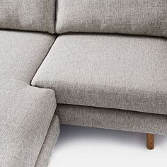 Eddy Flip Sectional, Feather Gray, Deco Weave
