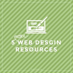 Stripe generators, Font finders and icon foundry. Nice!  | 5 More Web Design Resources via The Barn