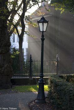 Zondagmorgen in Gouda Achter de kerk