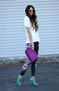 Little J Style: Fuchsia & Floral