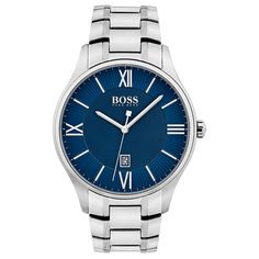 Shop designer clothes and accessories at Hugo Boss. Find the latest designer suits, clothing & accessories for men and women at the official Hugo Boss online store. Hugo Men, Hugo Boss Man, Gentlemans Club, Stainless Steel Watch, Stainless Steel Bracelet, Emporio Armani, Cool Watches, Watches For Men, Montres Hugo Boss