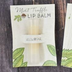 Mint Truffle Lip Balm | Free Project from The Studio                                                                                                                                                     More