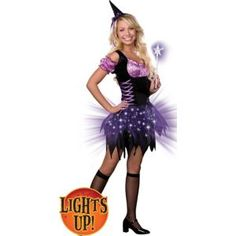 Teen Girls Light-Up Switch Witch Costume - Party City Teen Girl Costumes, Switch Witch, Light Up Costumes, Halloween Supplies, Sexy Halloween Costumes, Happy Halloween, Party Stores, Girls, City