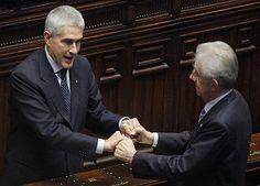 E' divorzio tra #SceltaCivica e #Udc dopo le dimissioni di Mario #Monti !