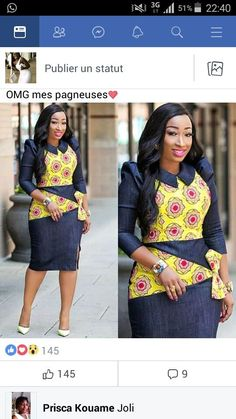 Casual by Jayuniquecouture African Dresses For Women, African Print Dresses, African Attire, African Wear, African Fashion Dresses, African Women, Style Africain, Ghanaian Fashion, African Traditional Dresses