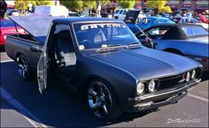 http://www.strictlyforeign.biz/default.asp 1974 Datsun 620 RHD Suicide Door Pick-up