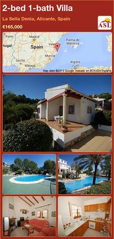 2-bed 1-bath Villa in La Sella Denia, Alicante, Spain ►€165,000 #PropertyForSaleInSpain