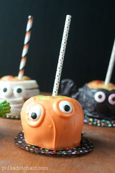 Caramel Apple Monsters are so easy to make and are so much fun to eat.