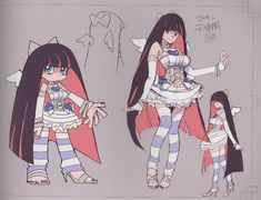 •Stocking is the only reason I watched this she is just too adorable ^u^