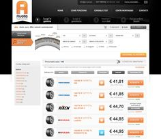"""A Ruota"" Magento e-commerce"