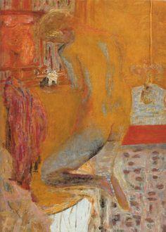 Femme Nue Dans Cabinet Toilette -  Pierre Bonnard  1934  Post-impressionism