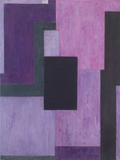 For Sale on - Large abstract oil painting - Violet -Architectural, color field, oil, Oil Paint by Stephen Cimini. Offered by Modern Art Etc. Geometric Painting, Abstract Canvas Art, Oil Painting Abstract, Oil On Canvas, Colour Field, Global Art, Graphic Design Illustration, Original Paintings, Art Paintings