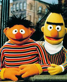 """Bert and Ernie, Sesame Street's favorite longtime roommates, are not getting married -- because they're not gay, or straight, for that matter.Earlier this month, inspired by New York state's recent legalization of gay marriage, an online petition argued the case that the popular Muppet characters wed one another. But Sesame Workshop nixed that idea in a statement posted on the official Sesame Street Facebook page on Thursday: """"Bert and Ernie are best friends. They were created to teach…"""