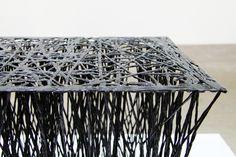il hoon roh carbon fibre luno chair gwangju design biennale designboom