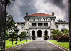 Photograph The Elkins Estate (Elstowe Manor) by Pete Douglass.. Elkins Park, PA