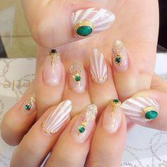 Nail Art - Beetle Nail : 八日市arte|スタッフネイル♡
