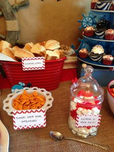 Sailor/nautical Birthday Party Ideas | Photo 21 of 53 | Catch My Party