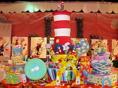 Seuss cake from Cake Boss Buddy Valastro, Cake Boss, Pretty Cakes, Cute Cakes, Dr Seuss Cake, Dr Suess, Cheesecake Frosting, Occasion Cakes, Love Cake