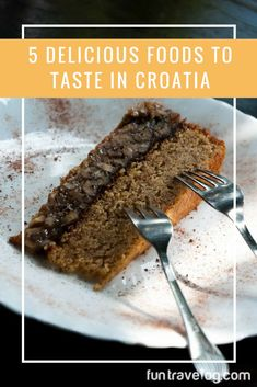 5 yummy things to try in Croatia. Bring cash, and your appetite! #Croatia #Zadar #Split #Brac