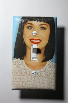 Katy Perry Light Switch Plate Cover girls child by ComicRecycled, $7.99