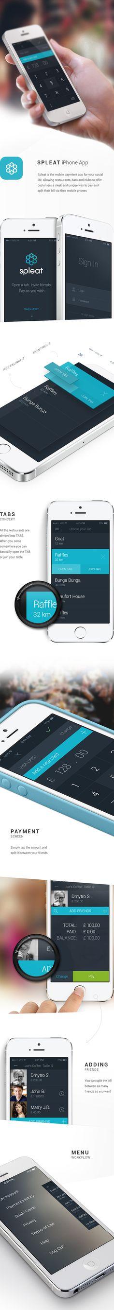 Mobile Screen Design Template