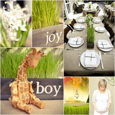 Sweet Springtime Baby Boy Shower on pizzazzerie.com #baby #shower