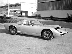 ... there was only ever one Lamborghini Miura Roadster built by the Lamborghini factory and it was designed by Marcello Gandini at Bertone.