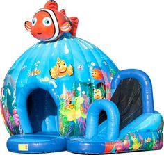 Nemo Disco bij Springkussen huren in het Gooi bij het SpringKasteel
