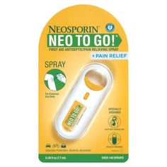 Neosporin First Aid Antiseptic and Pain Relieving Spray - 0.26 oz : Target