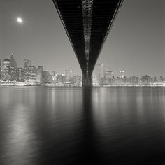 Brooklyn Bridge, Study 2, New York, 2006  Michael Kenna