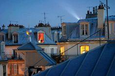Ah os telhados de Paris!