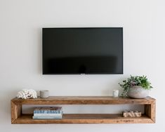 Your place to buy and sell all things handmade Wall unitwall cabinettv consolemedia unitmedia Tv Wall Decor, Decor Room, Bedroom Decor, Home Decor, Living Room Tv, Home And Living, Tv On Wall Ideas Living Room, Tv On The Wall Ideas, Tv Wall Cabinets