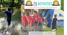 There are many activities that qualify for the Cub Scout Summertime Pack award. Check out these 75 fun activity ideas. Camping Games Kids, Games For Kids, Arrow Of Lights, Activity Ideas, Cub Scouts, Scouting, Summer Activities, Cubs, Summertime