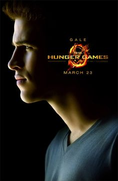 "Liam Hemsworth as Gale Hawthorne. ""The Hunger"" Games Opens March 23, 2012"