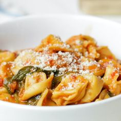 Soup Recipes, Dinner Recipes, Cooking Recipes, Healthy Recipes, Pasta Recipes, Vegetarian Recipes, Canning Crushed Tomatoes, Cheese Tortellini, Soups And Stews