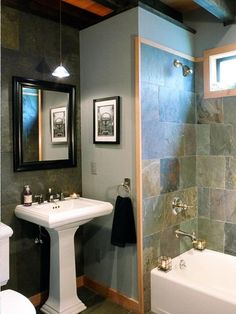 Bathroom Slate Bathrooms Design, Pictures, Remodel, Decor and Ideas - page 3