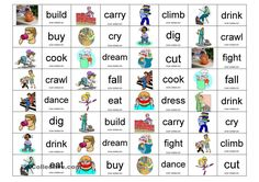 A collection of English ESL worksheets for home learning, online practice, distance learning and English classes to teach about domino, domino English Games, Kids English, English Words, English Grammar, Teaching English, Learn English, English Class, English Articles, English Resources