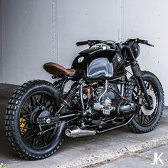 "8,877 Likes, 102 Comments - Bike EXIF (@bikeexif) on Instagram: ""Killer BMW R80 from @arjanvandenboom of Ironwood Custom Motorcycles in Amsterdam. The stance and…"""