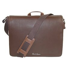 Robert Graham Mens Mulberry Messenger Brown -- Click on the image for additional details.