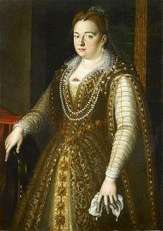 Portrait of Bianca Capello (1548 - 1587)