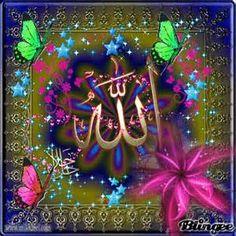 allah name gif Islamic Qoutes, Islamic Images, Islamic Messages, Islamic Pictures, Islamic Art, Islam Religion, Islam Muslim, Islam Quran, Islamic Calligraphy
