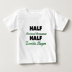 Half Chartered Accountant Half Zombie Slayer Tee T Shirt, Hoodie Sweatshirt