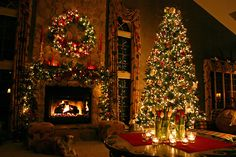 'Tis the season to get warm and cozy by the fireplace http://sussle.org/t/Christmas_decoration