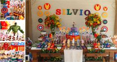 Festa Infantil OS VINGADORES by Arquiteta de Fofuras!!!  www.arquitetadefofuras.wordpress.com