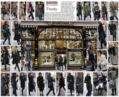 Bill Cunningham - On the Street: Frosty December 11th, 2011 (featuring sephora!)
